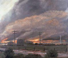 Norman Lundin - Prairie Fire #2