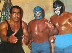 Black Shadow Blue Demon y Anibal. Classic Cartoon Characters, Classic Cartoons, Luchador Mask, Mexican Wrestler, Hurt Pain, Watch Wrestling, Andre The Giant, Western Caribbean, Black Shadow