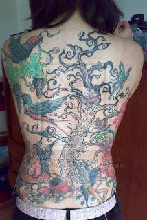 İlginç Dövmeler: Cute Fairy Tattoos