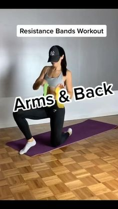 Gym Workout For Beginners, Fitness Workout For Women, Workout Videos, Workouts For Women, Daily Exercise Routines, At Home Workouts, Band Workouts, Shoulder Workout, Physical Fitness