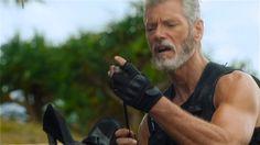 "Scene from ""Terra Nova"", episode ""Proof"". Stephen Lang as Commander Taylor."