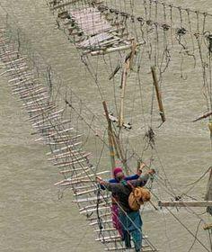World's Scariest Bridges