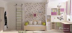 Детская для двух девочек, Ольга Тарасенко, Детская комната, Дизайн интерьеров Formo.ua