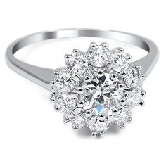 Vintage engagement ring! Love this one!!!!