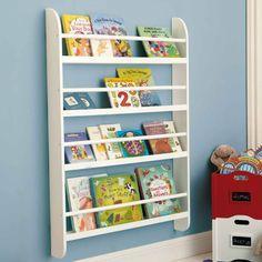 gallery style bookshelves - Tot Tutors Book Rack Primary Colors