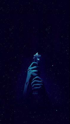 Star Wars live wallpaper iphone light saber blue