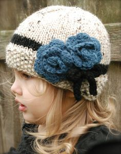 The Chaylie Cloche by Heidi May pattern $5.50 on Ravelry at  http://www.ravelry.com/patterns/library/the-chaylie-cloche #knitting #clochehat