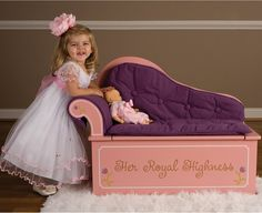 Little Princess Fainting Couch