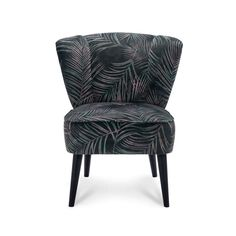 Fauteuil Renee - stof - botanical/groen Accent Chairs, Retro, Furniture, Home Decor, Products, Desk, Upholstered Chairs, Decoration Home, Room Decor