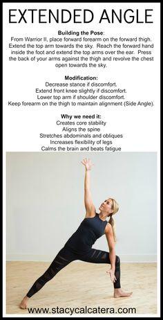 #stacycalcatera #yoga #extendedanglepose