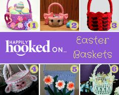 Hooked on… Easter Baskets! | Happily Hooked Magazine