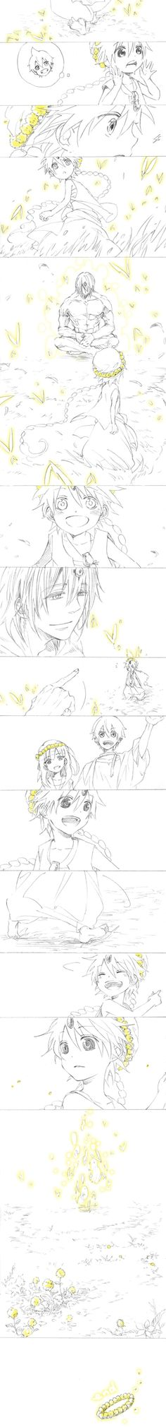 Magi - Aladdin, Morgiana, Alibaba and Ugo