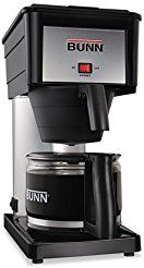 Christmas deals week BUNN Products - BUNN - 10-Cup Pour-O-Matic Coffee Brewer Black - Sold As 1 Each - Brews coffee in three minutes...
