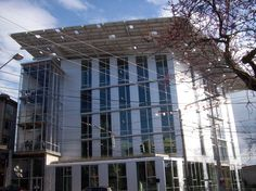 """Builders of the Bullitt Center, in Seattle, want it to """"perform much like an organic system: generating as much energy as it uses, producing no waste, and being water-efficient"""""""