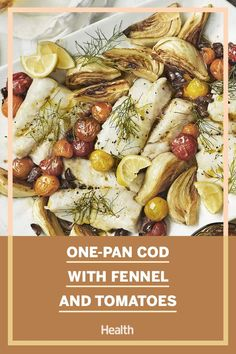 Looking for a healthy and light dinner idea? Here is a super easy, one pan cod recipe that everyone is sure to love. #codrecipes #onepandinners Crab Cake Recipes, Cod Recipes, Seafood Recipes, Grilled Salmon, Baked Salmon, Cod Recipe Pan, Cooking Fennel, Healthiest Seafood, Healthy Grilling