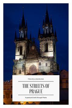 Postcard views from the Czech Capital Prague. Europes most romantic city?