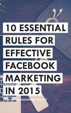 10 Essential Rules For Effective Marketing in Marketing Blog, Marketing Services, Facebook Marketing Strategy, Marketing Digital, Business Marketing, Affiliate Marketing, Internet Marketing, Online Marketing, Social Media Marketing