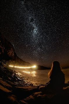 Wish I Were There With You - a Poem Punakaiki, New Zealand. Have you ever seen a more beautiful night sky setting?Punakaiki, New Zealand. Have you ever seen a more beautiful night sky setting? Stars Night, Stars And Moon, Beautiful World, Beautiful Places, Beautiful Pictures, Wonderful Places, Stunningly Beautiful, Beautiful Sky, Stargazer