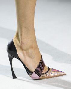 christian dior; spring 2013 - love that heel shape!
