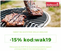 Akcja promocyjna z kodem rabatowym -15% na grille węglowe Barbecook Grill Pan, Desserts, Food, Simple Lines, Griddle Pan, Tailgate Desserts, Deserts, Essen, Postres