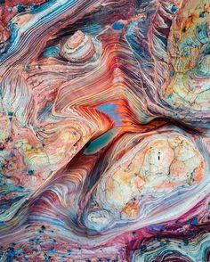 Imagen tomada desde un dron del Vermilion Cliffs National Monument, en Arizona, Estados Unidos (US)