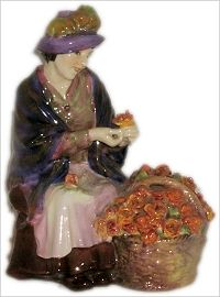 Royal Doulton Figurine All-A-Blooming HN1466