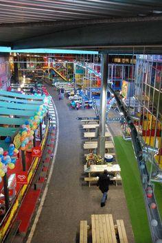 Binnenspeeltuin overzicht bij TunFun Speelpark