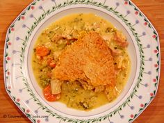 Gourmet Girl Cooks: Chicken Pot Pie w/ Cheddar Herb Crust - Low Carb