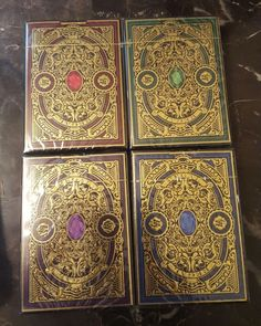 GILDED REGAL PLAYING CARDS DECK SET THEORY 11 ELLUSIONIST ULTRA RARE DAN DAVE | eBay