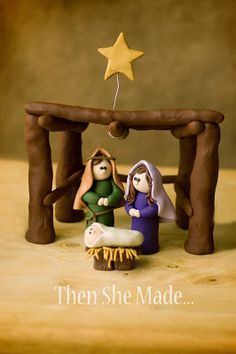 I need a clay manger for my nativity set. This might be a good start.