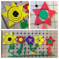 making flowers using @Spielgaben - the playguide and inspiration cards are a great jumping off point.