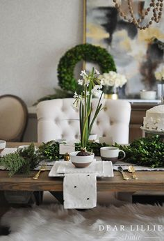 Seasons of Home - Christmas Dining Room - Dear Lillie Studio