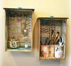 gavetas recicladas
