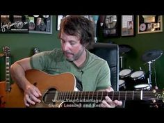 Absolute First Beginner Acoustic Guitar Lesson - Beginner Acoustic Guita...