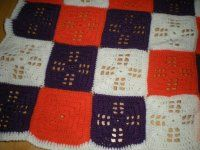 Háčkovaný čtvereček Quilts, Blanket, Crochet, Crocheting, Blankets, Quilt Sets, Kilts, Log Cabin Quilts, Patchwork Quilting