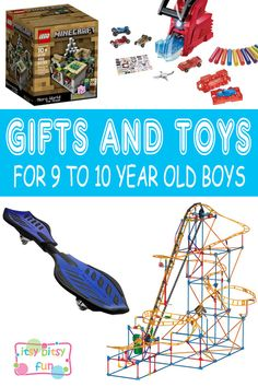 Best Gifts For 9 Year Old Boys. Lots of Ideas for 9th Birthday, Christmas and 9 to 10 Year Olds