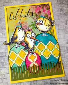 The Artful Maven Haven: CC3 C25 - Frameworks using Tim Holtz, Ranger, Idea-ology, Sizzix and Stamper's Anonymous products; Mar 2015
