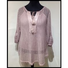 Shyloh Pinky Top with Tie Neck Detail Sale Items, Polka Dot Top, Casual Wear, Tunic Tops, Tie, Suits, Detail, How To Wear, Stuff To Buy
