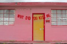 why did you kiss mequote by anonymous // banner & photography by peytonfulford