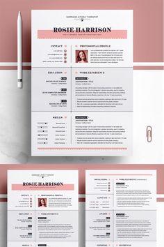 Von der Rose Resume Vorlage # 76563 – Resume Templates and Examples - Lebenslauf Modern Resume Template, Resume Template Free, Creative Resume Templates, Teacher Resume Template, Resume Tips, Job Resume, Business Resume, Resume Layout, Resume Ideas