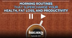 Find out the surprising science behind morning routines and how they affect your brain, your health, and your productivity.