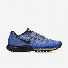 hot sales 1340c 15b8e Nike Women s Chalk Blue Racer Blue Hyper Orange Black Air Zoom Terra Kiger