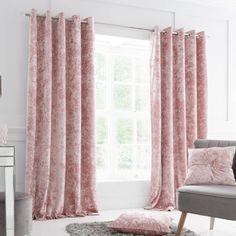 Crushed Velvet Luxury Blush Pink Duvet Cover Set – Ideal Textiles Room Darkening Curtains, Crushed Velvet, Duvet Cover Sets, Timeless Design, Decoration, Blush Pink, Living Spaces, Bedroom Decor, Luxury