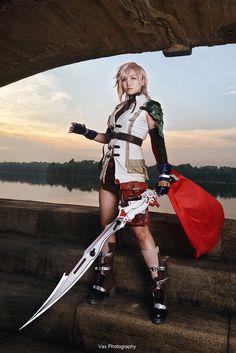 Final Fantasy XIII - Lightning by vaxzone on @DeviantArt