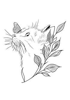 Dainty Tattoos, Bad Tattoos, Life Tattoos, Art Drawings Sketches, Tattoo Drawings, Stitch Games, Cat Tattoo Designs, World Tattoo, Beautiful Tattoos