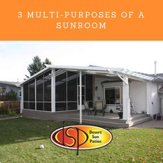 3 Multi-Purposes of a Sunroom Desert Sun, News Space, Sunrooms, Calgary, Purpose, Shed, Relax, Outdoor Structures, Bright