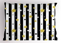 Purchase Abstract Yellow Chevron Black White and Gold Stars Patterns Wall Art Hanging Tapestry inch from Ann Pekin Pekin on OpenSky. Christmas Birthday Party, Christmas Pillow Covers, Birthday Backdrop, Black And White Lines, Rubber Mat, Pet Mat, White Pillows, Gold Stars, Pillow Shams