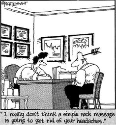 Massage humor…  | Come to Fulcher's Therapeutic Massage in Imlay City, MI and Lapeer, MI for all of your massage needs!  Call (810) 724-0996 or (810) 664-8852 respectively for more information or visit our website lapeermassage.com!