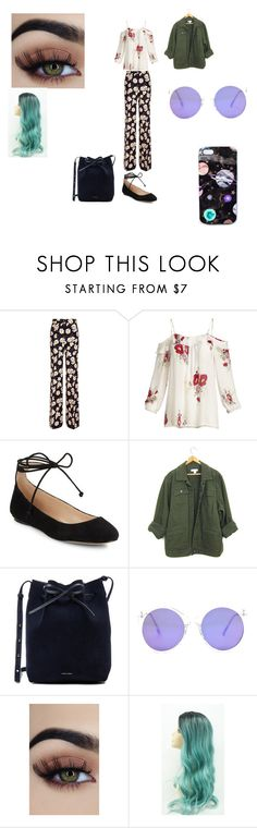 """Untitled #42"" by tumblrgirl223 on Polyvore featuring Rochas, Joie, Karl Lagerfeld, Mansur Gavriel and Nikki Strange"