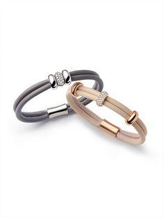 Bracelets - 18 kt ... - noor Statement Bracelets, Diamond Bracelets, Diamond Rings, Bangles, Leather Jewelry, Gold Jewelry, Jewellery, Jewelry Trends, Black Diamond